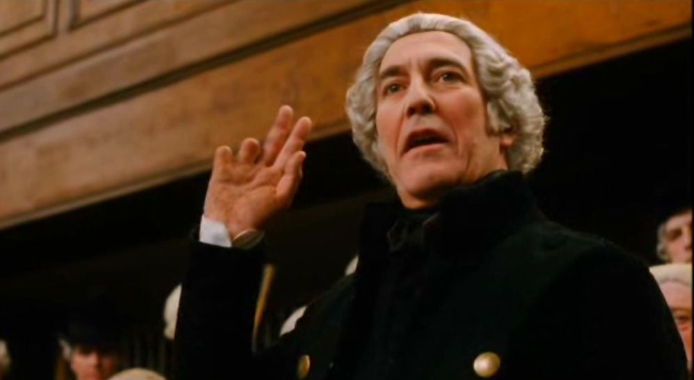 Ciaran Hinds in Amazing Grace