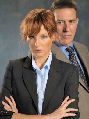 Ciaran Hinds and Kelly Reilly in Deadly Intent