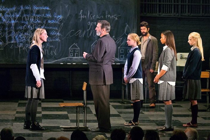the internal battles of mary warren john proctor and reverend hale in the crucible by arthur miller Arthur miller's the crucible dr barbara basel  however, he experiences a transformation, one more remarkable than that of any other character listening to john proctor and mary warren, he becomes convinced that they, not abigail, are telling the truth in the climactic scene in the court in act iii, he joins those who are opposing the.